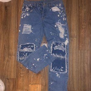 LF Distressed Jeans